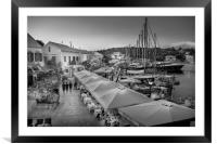 Every picture tells a story..........., Framed Mounted Print