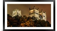 Night at the Cathedral......., Framed Mounted Print
