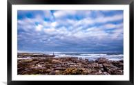 Lookout to Sea, Framed Mounted Print