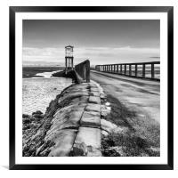 The Island Causeway, Framed Mounted Print