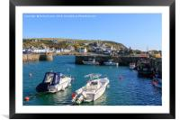 Portpatriek harbour , Framed Mounted Print