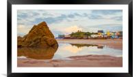 Tenby, Pembrokeshire. , Framed Mounted Print