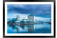 The Lowry. , Framed Mounted Print