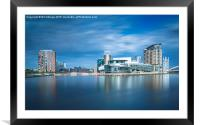 View of Salford Quays, Framed Mounted Print