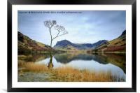 Lake Buttermere, Framed Mounted Print