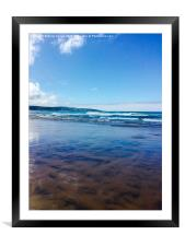 Gwithian , Framed Mounted Print