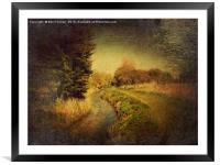 The Stream, Framed Mounted Print