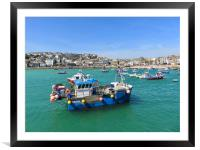 Beautiful St Ives, Framed Mounted Print