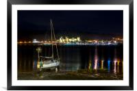Conwy Castle & River Conwy, North Wales, Framed Mounted Print