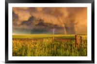 Superior Storm., Framed Mounted Print