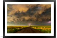 Superior Thunderstorm., Framed Mounted Print
