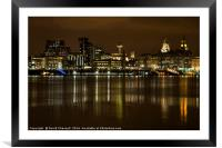 Liverpool Waterfront   , Framed Mounted Print