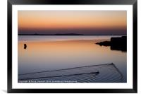 Tranquil Waters, Framed Mounted Print