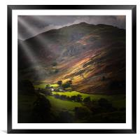 The lake district  , Framed Mounted Print