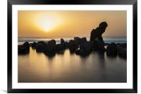 Tenerife sunset , Framed Mounted Print