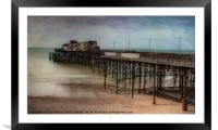 HASTINGS' PIER, EAST SUSSEX - AFTER THE FIRE, Framed Mounted Print