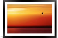 Solo Flight, Framed Mounted Print