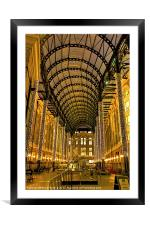 Hays Galleria London, Framed Mounted Print