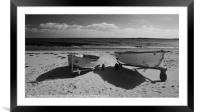 Newton By The Sea, Framed Mounted Print