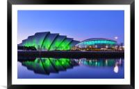 SECC and SSE Hydro, Framed Mounted Print