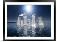 Magical IceLight, Framed Mounted Print