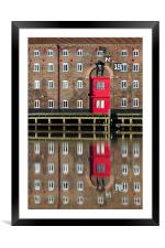 Pease Warehouse, Framed Mounted Print