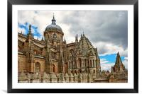 Cathedral of Salamanca, Framed Mounted Print