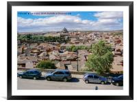 View of Toledo, Framed Mounted Print
