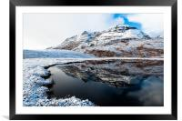 Liathach, Framed Mounted Print