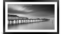 Teignmouth Pier at Dawn, Framed Mounted Print