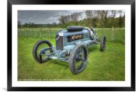 Mitchell D-40 Racer, Framed Mounted Print