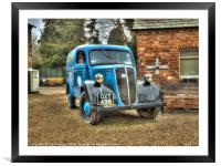 Fordson Van, Framed Mounted Print