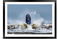 Jet Ski at Saltburn, Framed Mounted Print