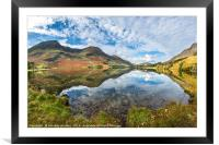 Buttermere in Autumn, Framed Mounted Print