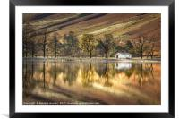 Buttermere Boathouse, Framed Mounted Print