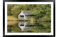 The Boat House Rydal Water, Framed Mounted Print