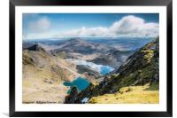 Snowdon, Framed Mounted Print