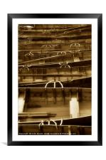 Rowing Boats on Derwentwater, Framed Mounted Print