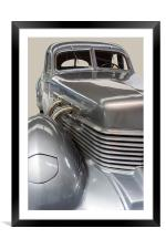 1937 Cord Type 812, Framed Mounted Print