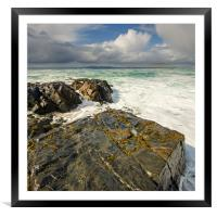 Scarista, Framed Mounted Print