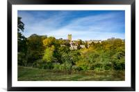 Richmond, North Yorkshire, Framed Mounted Print