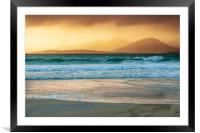 Luskentyre Views, Framed Mounted Print