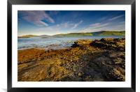 Loch Na Keal, Framed Mounted Print