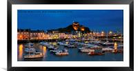 Ilfracombe by night, Framed Mounted Print