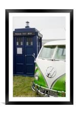 Time Lord Transport, Framed Mounted Print