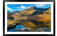 Buttermere , Framed Mounted Print