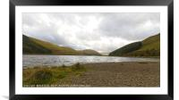 St Marys Loch / Loch of the Lowes, Scottish Border, Framed Mounted Print