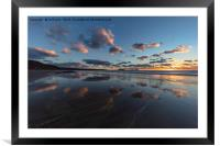 The Sand Mirror, Framed Mounted Print