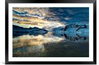 Antarctic morning., Framed Mounted Print