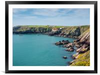 St Justinian's in Pembrokeshire., Framed Mounted Print